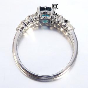 グランディディエライト 0.610ct 指輪 プラチナ リング グランディディエライト 0.610ct ダイヤモンド 0.372ct 中央宝石研究所鑑別書付き|jewelry-sindbad|03