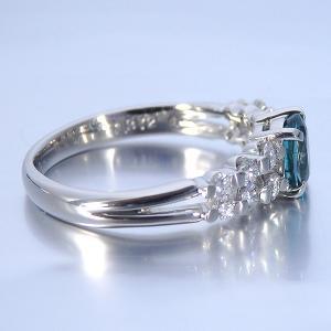 グランディディエライト 0.610ct 指輪 プラチナ リング グランディディエライト 0.610ct ダイヤモンド 0.372ct 中央宝石研究所鑑別書付き|jewelry-sindbad|04