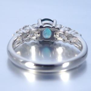 グランディディエライト 0.610ct 指輪 プラチナ リング グランディディエライト 0.610ct ダイヤモンド 0.372ct 中央宝石研究所鑑別書付き|jewelry-sindbad|05