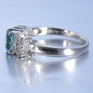 グランディディエライト 0.610ct 指輪 プラチナ リング グランディディエライト 0.610ct ダイヤモンド 0.372ct 中央宝石研究所鑑別書付き|jewelry-sindbad|06