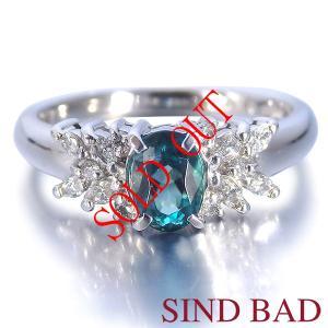 グランディディエライト 指輪 プラチナ リング グランディディエライト 0.596ct ダイヤモンド 0.186ct 中央宝石研究所鑑別書付き|jewelry-sindbad