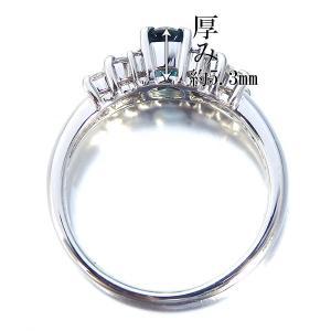 グランディディエライト 指輪 プラチナ リング グランディディエライト 0.596ct ダイヤモンド 0.186ct 中央宝石研究所鑑別書付き|jewelry-sindbad|03