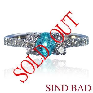 お買い上げ頂いたので、感謝の気持ち(サンキュー39)に価格を変更しました!パライバ 0.405ct|jewelry-sindbad