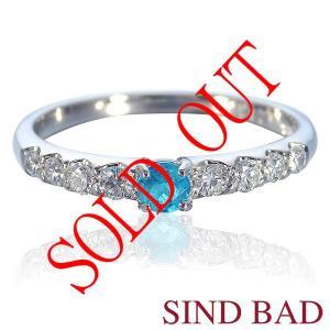お買い上げ頂いたので、感謝の気持ち(サンキュー39)に価格を変更しました!パライバ0.144ct|jewelry-sindbad