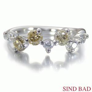 ブラウンダイヤ 指輪 プラチナ リング ブラウンダイヤモンド ダイヤモンド 0.613ct|jewelry-sindbad