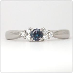 アレキサンドライト 指輪 プラチナ リング 0.168ct |jewelry-sindbad|03