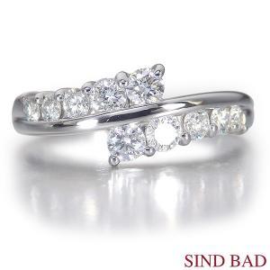 スイートテンダイヤモンド 指輪 プラチナ リング 0.5ct|jewelry-sindbad