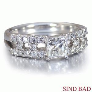 ダイヤモンド 指輪 プラチナ リング 0.621ct 中央宝石研究所鑑定書付き|jewelry-sindbad