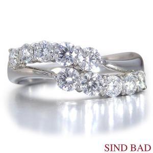 スイートテンダイヤモンド 指輪 プラチナ リング 0.8ct|jewelry-sindbad