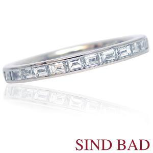 ダイヤモンド 指輪 プラチナ リング 0.5ct ハーフエタニティリング|jewelry-sindbad