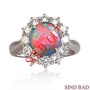 お買い上げ頂いたので、感謝の気持ち(サンキュー39)に価格を変更しました!ブラックオパール 1.01ct|jewelry-sindbad