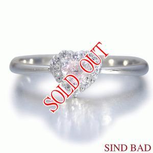 ピンクダイヤ 指輪 プラチナ リング 0.121ct センターダイヤ ピンクダイヤモンド ファンシー ライト ピンク AGTジェムラボラトリー鑑定書付き|jewelry-sindbad