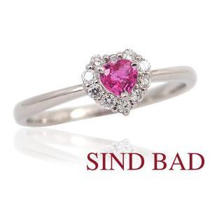 ピンクサファイア 指輪 サファイア プラチナ リング サファイヤ 0.152ct 【ピンクサファイヤ】|jewelry-sindbad