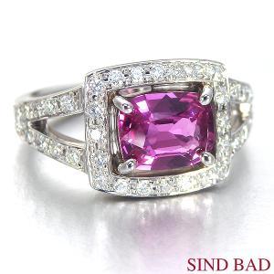非加熱ルビー 指輪 プラチナ リング 1.321ct 中央宝石研究所鑑別書付き|jewelry-sindbad