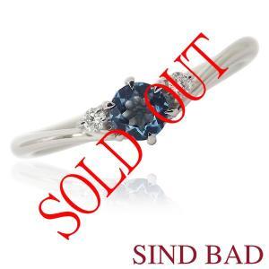 お買い上げ頂いたので、感謝の気持ち(サンキュー39)に価格を変更しました!サンタマリアアクアマリン 0.12ct|jewelry-sindbad