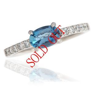 お買い上げ頂いたので、感謝の気持ち(サンキュー39)に価格を変更しました!サンタマリアアクアマリン 0.4ct|jewelry-sindbad
