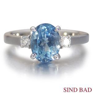 サンタマリアアクアマリン 1.5ct 指輪 プラチナ リング アクアマリン 1.5ct ダイヤ 0.097ct 【サンタマリアアクアマリン 指輪】|jewelry-sindbad