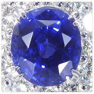 非加熱サファイア 指輪 プラチナ リング 3.825ct ダイヤ 0.898ct 中央宝石研究所分析結果報告書付き|jewelry-sindbad|02