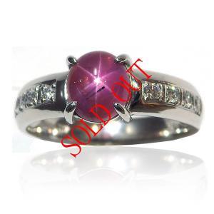 お買い上げ頂いたので、感謝の気持ち(サンキュー39)に価格を変更しました! スタールビー 2.068ct|jewelry-sindbad
