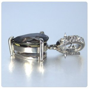 サファイア ペンダント ヘッド 1.773ct ネックレス プラチナ ペンダント サファイヤ 1.773ct ダイヤ 0.067ct|jewelry-sindbad|05