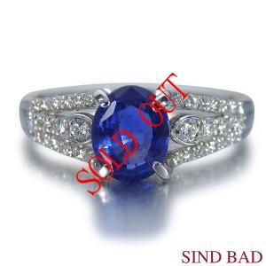 お買い上げ頂いたので、感謝の気持ち(サンキュー39)に価格を変更しました!非加熱サファイア 1.373ct|jewelry-sindbad