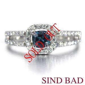 お買い上げ頂いたので、感謝の気持ち(サンキュー39)に価格を変更しました!サファーリン 0.288ct|jewelry-sindbad