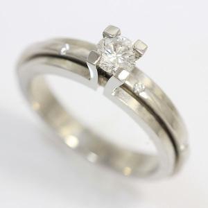 PIAGET(ピアジェ)  ポセション リング  ダイヤモンド 0.30ct 8.5号 49 18金ホワイトゴールド(K18WG)   【中古】ブランド ジュエリー 【新品仕上げ済み】|jewelry-total