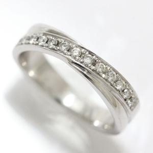 ダイヤモンド 計0.14ct リング 5号 18金ホワイトゴールド(K18WG)   【中古】ジュエリー 【新品仕上げ済み】|jewelry-total