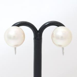 あこや 本真珠  パール 8.5mm イヤリング  プラチナ(Pt850)   【中古】 ジュエリー 【新品仕上げ済み】|jewelry-total