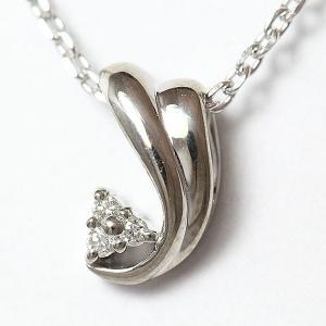 ダイヤモンド ネックレス  9金ホワイトゴールド(K9WG)   【中古】 ジュエリー 【新品仕上げ済み】|jewelry-total