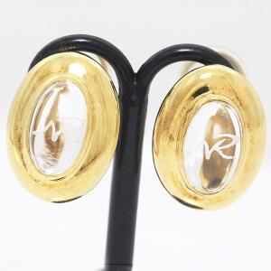 NINA RICCI(ニナ リッチ)   水晶 イヤリング  18金イエローゴールド(K18YG)   【中古】 ジュエリー 【新品仕上げ済み】 netshop|jewelry-total