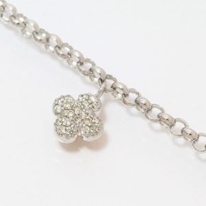 ダイヤモンド 計0.17ct ブレスレット  18金ホワイトゴールド(K18WG)/18金ピンクゴールド(K18PG)   【中古】 ジュエリー 【新品仕上げ済み】 netshop|jewelry-total