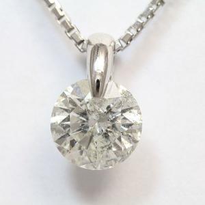 鑑定書付き I/I1/GD 一粒石 ダイヤモンド 2.067ct ネックレス  プラチナ(Pt900)   【中古】 ジュエリー 【新品仕上げ済み】 netshop|jewelry-total