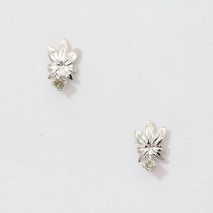 ダイヤモンド ピアス  10金ホワイトゴールド(K10WG)   【中古】 ジュエリー 【新品仕上げ済み】 netshop|jewelry-total