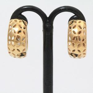 フープ  ピアス  18金ピンクゴールド(K18PG)   【中古】 ジュエリー 【新品仕上げ済み】 netshop|jewelry-total