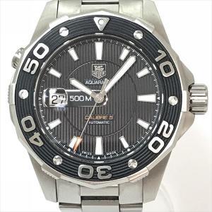 TAG HEUER(タグホイヤー) アクアレーサー キャリバー5 WAJ2110  ステンレススチール(SS) オートマティック(自動巻き) メンズ  【中古】 腕時計 netshop|jewelry-total