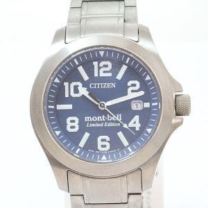 CITIZEN(シチズン)×mont-bell(モンベル) プロマスター モンベルコラボ BN0121-51L  チタン エコドライブ メンズ  【中古】 腕時計 netshop|jewelry-total