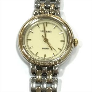 SEIKO(セイコー) LUCENT(ルーセント) 4N21-0350 三針 ステンレススチール(SS) クォーツ レディース 【中古】 腕時計 all shop oc|jewelry-total
