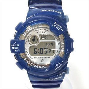 BABY-G(ベビージー) フロッグマン BGW-103 デジタル文字盤  クォーツ レディース  【中古】 腕時計|jewelry-total