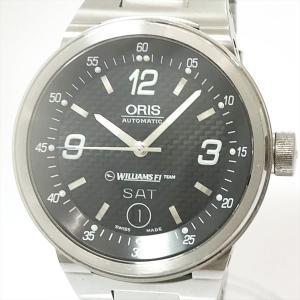 ORIS(オリス) ウィリアムズ 7560 ブラック ステンレススチール(SS) オートマティック(自動巻き) メンズ  【中古】 腕時計 netshop|jewelry-total