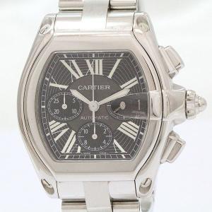 Cartier(カルティエ) ロードスター W62020X6(2618) クロノグラフ ステンレススチール(SS) オートマティック(自動巻き) メンズ  【中古】 腕時計 netshop|jewelry-total