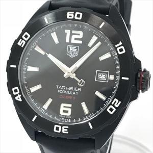 TAG HEUER(タグホイヤー) フォーミュラ1 キャリバー5 WAZ2115.FT8023  ステンレススチール(SS)×ラバー 自動巻き メンズ 黒 ブラック 【中古】 腕時計 netshop|jewelry-total