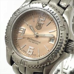 TAG HEUER(タグホイヤー) セルシリーズ WT1411 オレンジ文字盤 ステンレススチール(SS) クォーツ レディース  【中古】 腕時計 netshop|jewelry-total