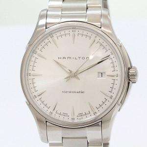HAMILTON(ハミルトン) ジャズマスター ビューマチック H326650  ステンレススチール(SS) オートマティック(自動巻き) メンズ  【中古】 腕時計 netshop|jewelry-total