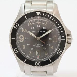 ハミルトン(HAMILTON) カーキ スクーバ デイデイト H645150  ステンレススチール(SS) オートマティック(自動巻き) メンズ  【中古】 腕時計 netshop|jewelry-total