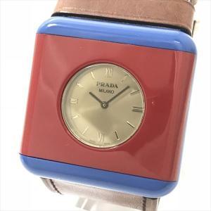 abbbf2f0ecfb PRADA(プラダ) 1AR567 クォーツ 男女兼用 ユニセックス 【中古】 腕時計 netshop