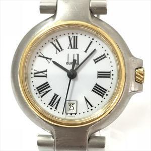 dunhill(ダンヒル)    ステンレススチール(SS) クォーツ レディース  【中古】 腕時計 netshop|jewelry-total