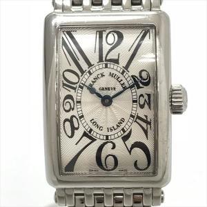FRANCK MULLER(フランクミュラー) ロングアイランド 902QZ  ステンレススチール(SS) クォーツ レディース  【中古】 腕時計 netshop|jewelry-total