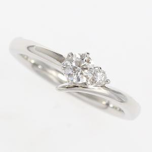 FOREVER MARK(フォーエバーマーク) リング ダイヤモンド 0.23ct/F/VS1/EX 0.03ct 11号 プラチナ(Pt900) 鑑定書【中古】 ジュエリー|jewelry-total
