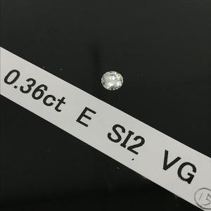 ルース ダイヤモンド 0.36ct/E/SI2/VG 鑑定書付 ジュエリー 【新品仕上げ済み】 jewelry-total